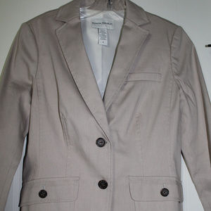 Blazer, Banana Republic in True Taupe